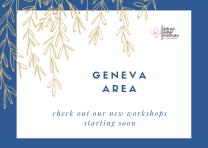 Geneva Area Button Blue