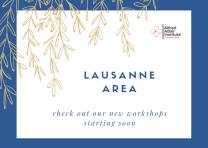 Lausanne Area Button Blue